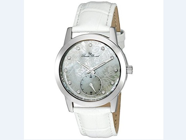 Đồng hồ nữ Lucien Piccard LP-12384-YG-01MOP Alca Black Mother-Of-Pearl Dial